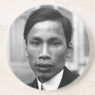 Ho Chi Minh Nguyen Ai Quoc Portrait 1921 Coaster