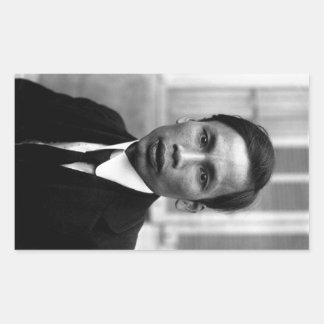 Ho Chi Minh Nguyen Ai Quoc Portrait 1921 Rectangular Sticker