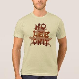 Ho chit de Lee, diseño divertido de la camiseta Remera