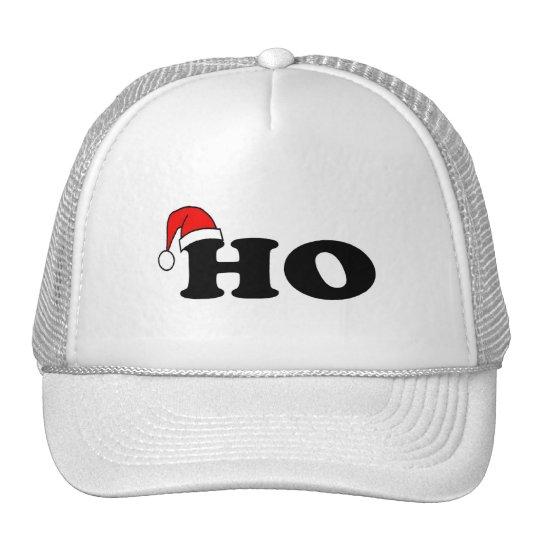 Ho Christmas Greeting Trucker Hat