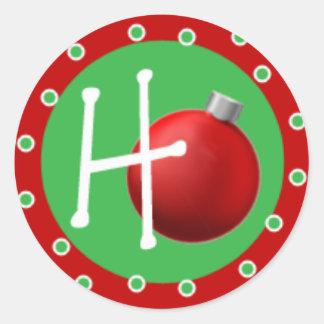 Ho Classic Round Sticker