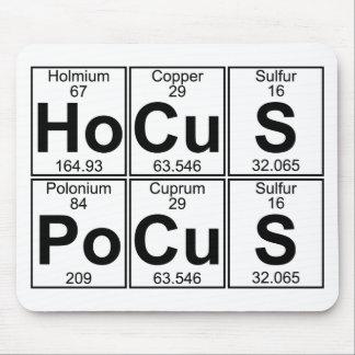 Ho-Cu-S Po-Cu-S (hocus pocus) - Full Mouse Pad