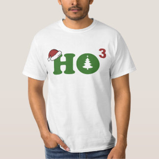 Ho Cubed Merry Christmas T-Shirt