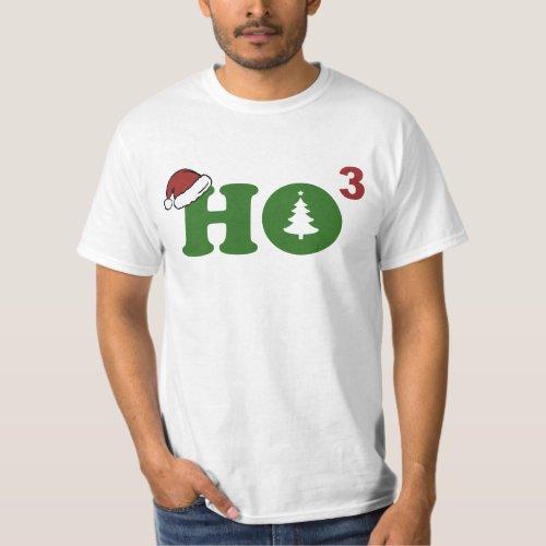 Ho Cubed Merry Christmas T_Shirt