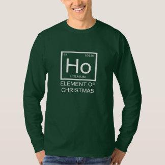 Ho Element Of Christmas Long Sleeve Unisex (green) T-Shirt
