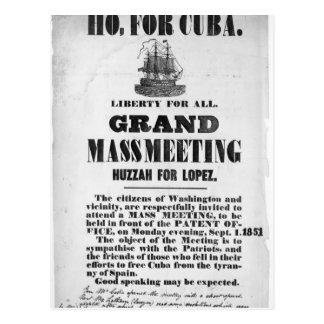 Ho, for Cuba Postcard