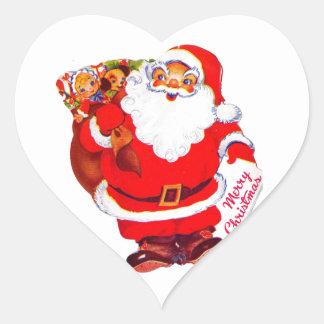 ho, ho! heart sticker