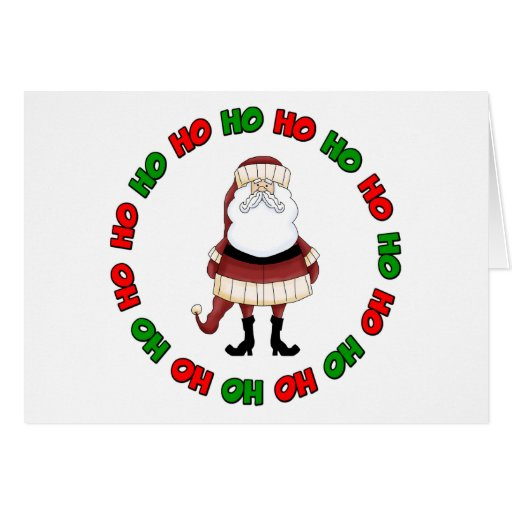 Ho Ho Ho! 2 Greeting Card
