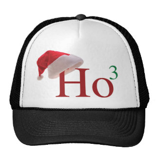 Ho Ho Ho 3 Christmas to the 3rd Power Designs Trucker Hat
