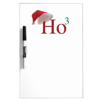 Ho Ho Ho 3 Felices Navidad al 3ro poder Tableros Blancos