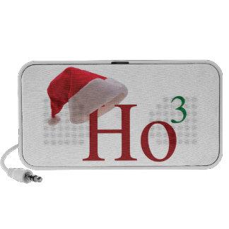 Ho Ho Ho 3 Merry Christmas to the 3rd power Travel Speakers