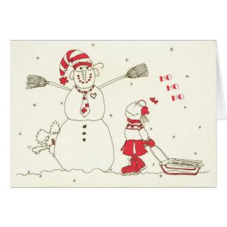 HO! HO! HO! ABIGAIL LOVE HOLIDAY GREETING CARD