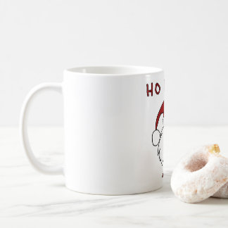 HO HO HO and a bottle of rum! Coffee Mug