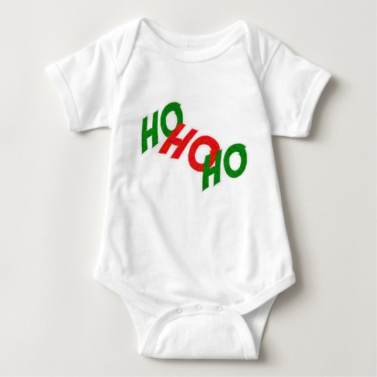 Ho Ho Ho Baby Clothes Baby Bodysuit