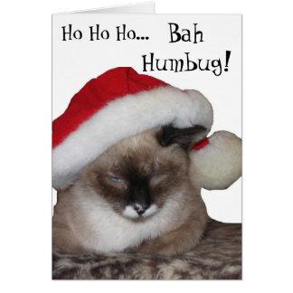 Ho Ho Ho... Bah~Humbug! Card