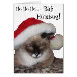 Ho Ho Ho... Bah~Humbug! Cards