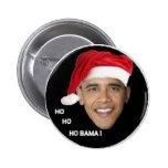 Ho Ho Ho Bama Pinback Button