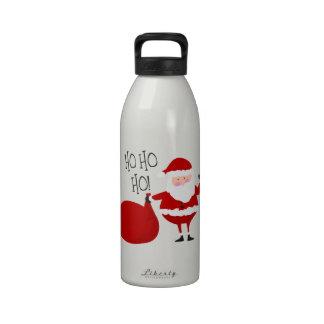 ¡Ho Ho Ho! Botella De Agua Reutilizable