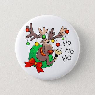 HO HO HO by SHARON SHARPE Button