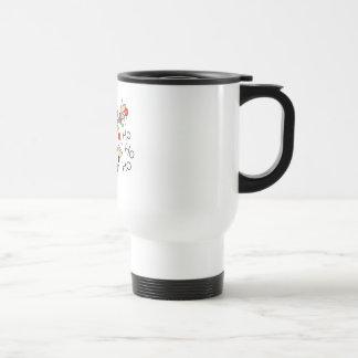 HO HO HO by SHARON SHARPE Mugs