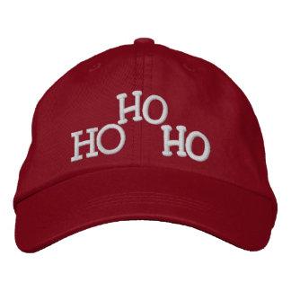 HO HO HO by SRF Embroidered Baseball Cap