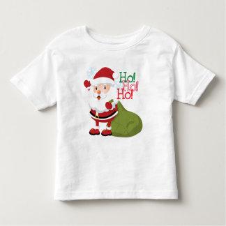 Ho-Ho-Ho camisa de los niños de Santa