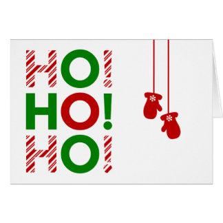 HO! HO! HO! CARD