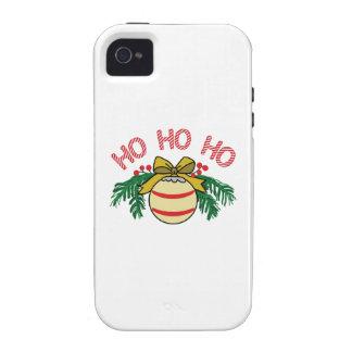 HO HO HO Case-Mate iPhone 4 CASE
