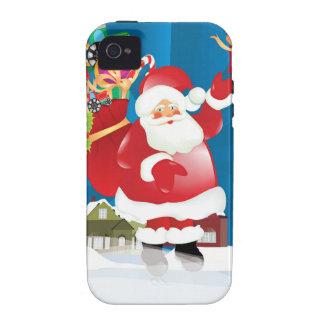 Ho Ho Ho Case-Mate iPhone 4 Funda