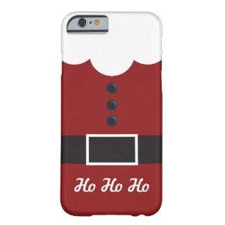 Ho Ho Ho caso del iPhone 6 del navidad del juego Funda Barely There iPhone 6