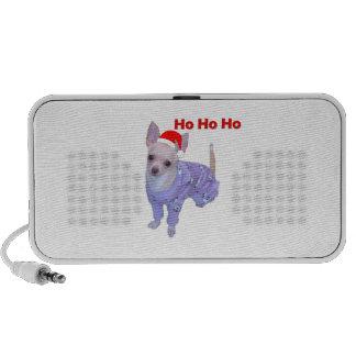 Ho Ho Ho Chihuahua Travel Speakers