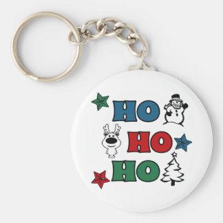 Ho-Ho-Ho Christmas design Keychain