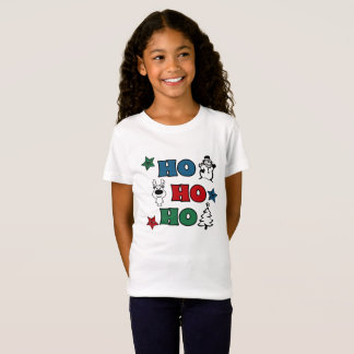 Ho-Ho-Ho Christmas design T-Shirt