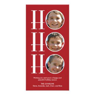 Ho Ho Ho - Christmas/Holiday Photo Card