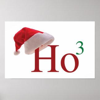 Ho Ho Ho Christmas Poster