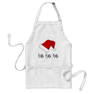 Ho Ho Ho Christmas Santa Hat Apron