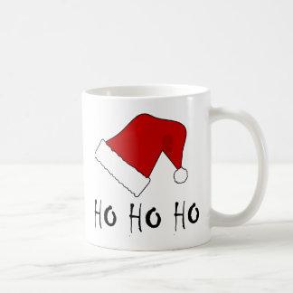 Ho Ho Ho Christmas Santa Hat Mugs