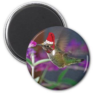 Ho Ho Ho colibrí Imán Redondo 5 Cm