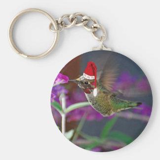 Ho Ho Ho colibrí Llavero Personalizado