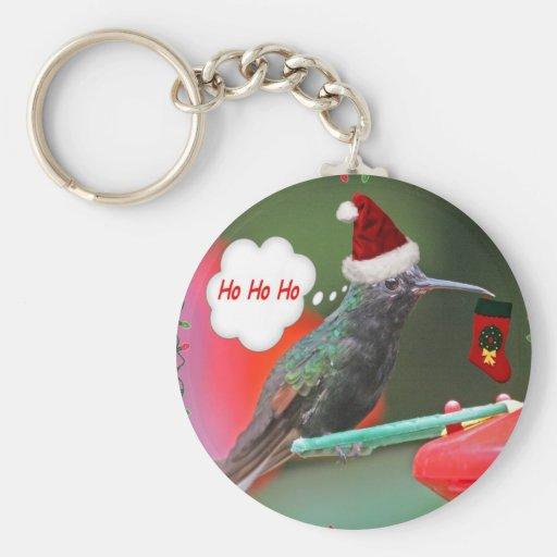 Ho Ho Ho colibrí Llaveros