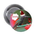 Ho Ho Ho colibrí Pins