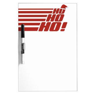 Ho Ho Ho custom Xmas message board