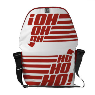 Ho Ho Ho custom Xmas messenger bag