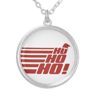 Ho Ho Ho custom Xmas necklace