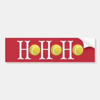 HO-HO-HO - Customize background Bumper Sticker