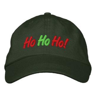 Ho, Ho, Ho! Embroidered Cap