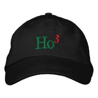 Ho Ho Ho Embroidery Embroidered Baseball Caps