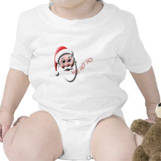 ¡Ho! ¡Ho! ¡Ho! Enredadera linda del niño del navid Traje De Bebé