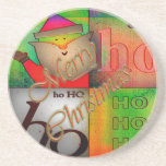 Ho Ho Ho es navidad Posavasos Manualidades