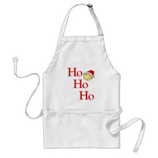 Ho - Ho - Ho -- ¡Es Santa sonriente! Delantal